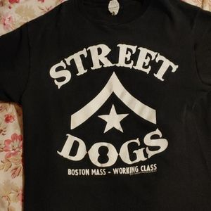 The punk band Street dogs shirt medium